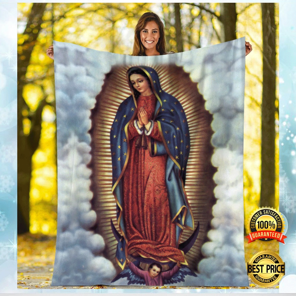 Our Lady Of Guadalupe Blanket 4