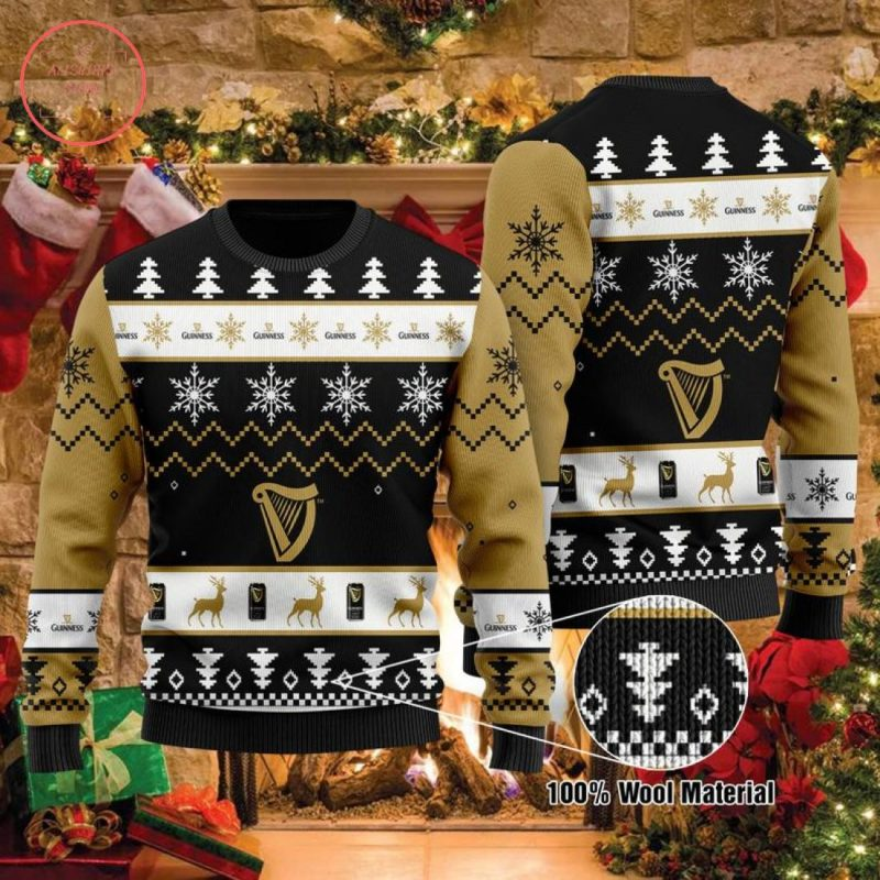 Guinness Beers Christmas Sweater