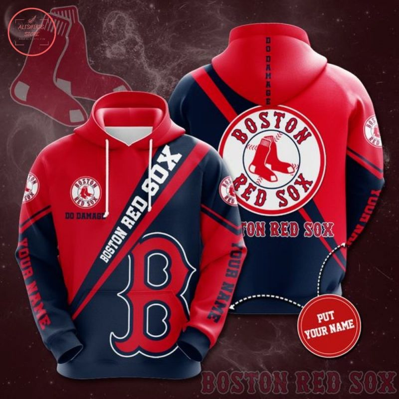 MLB Boston Red Sox Personalized Hoodie