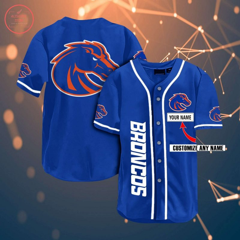 personalized boise state football jersey